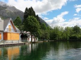 Lago di Plužna, Slovenia