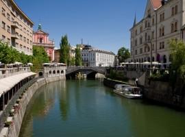 Lubiana, capitale della Slovenia