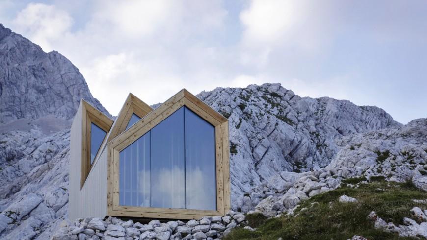 Tra i rifugi eco-sostenibili più belli, c'è quello in Slovenia sul Monte Skota