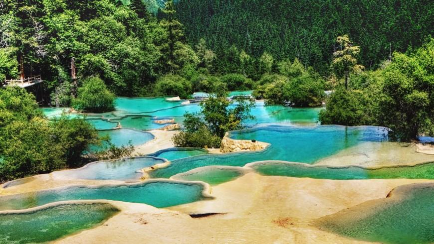 Huanglong, tra i parchi nazionali più belli del mondo