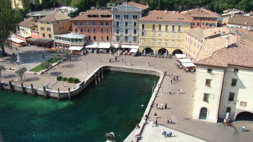 Riva del Garda, una delle località più famose sul Lago di Garda