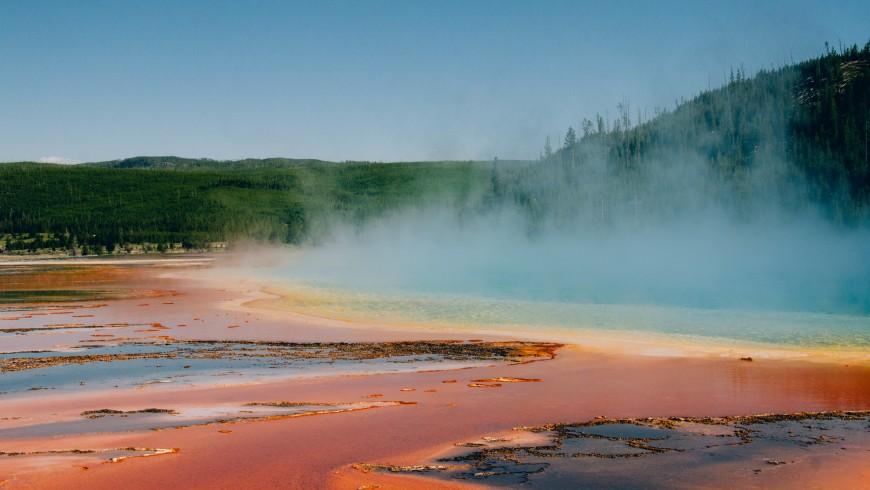 Parco di Yellowstone, uno dei siti UNESCO che rischia di scomparire