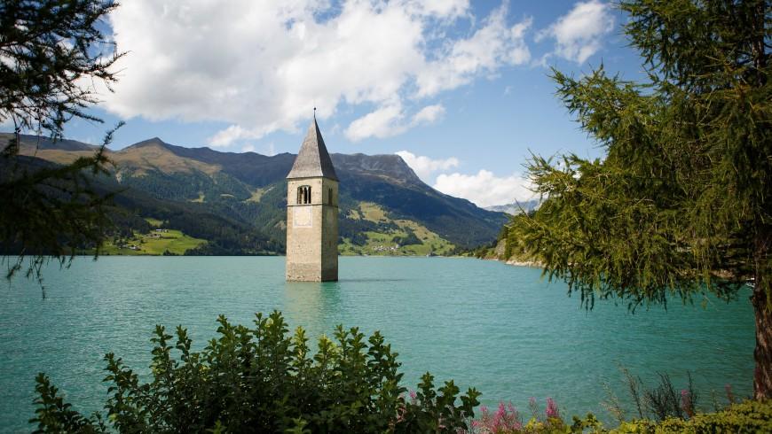 Lago di Resia (Reschensee)