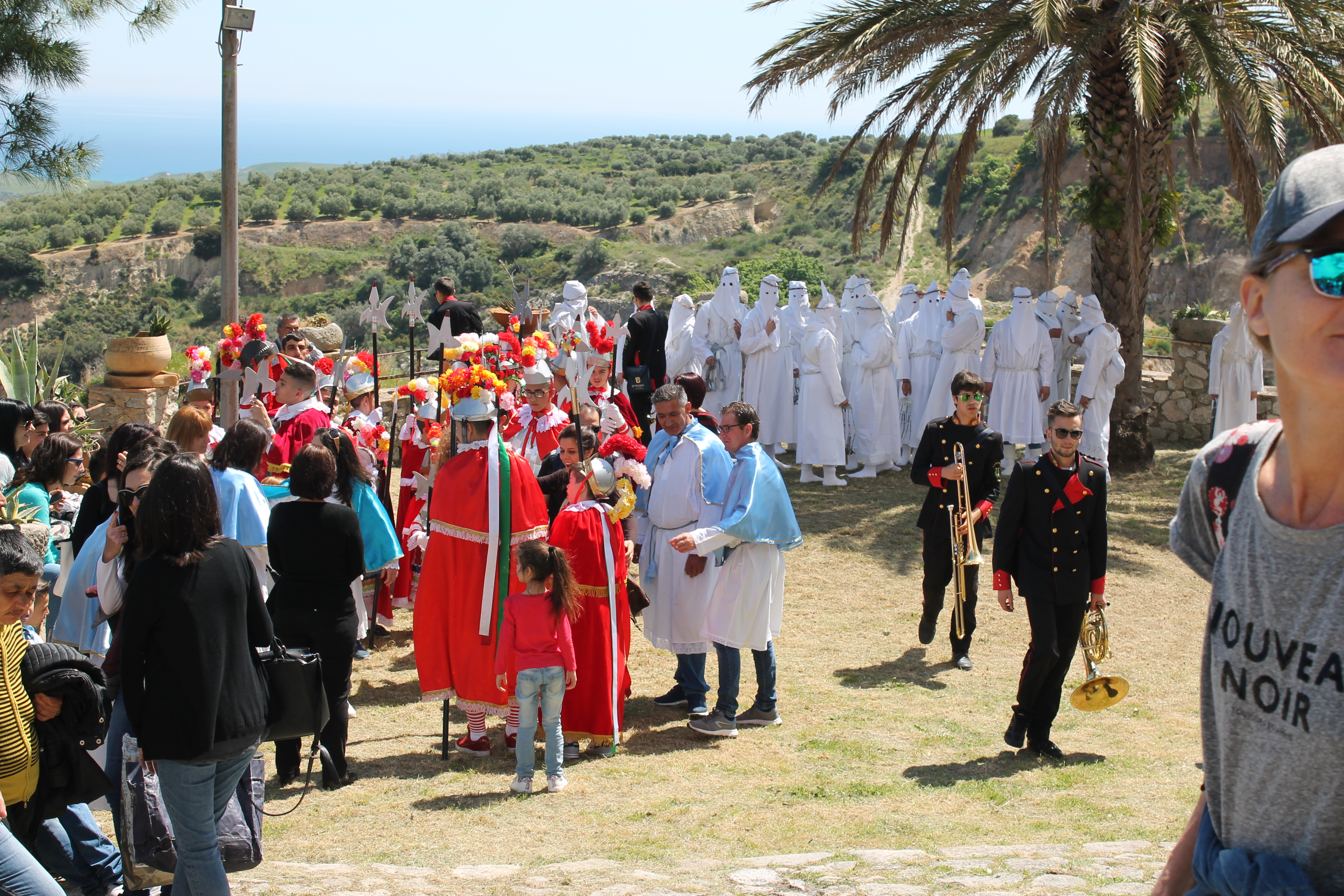 Processione di Pasqua a Badolato