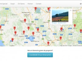 mappatura degli itinerari lenti, a piedi, in bici, a cavallo, ecc. su Ecobnb
