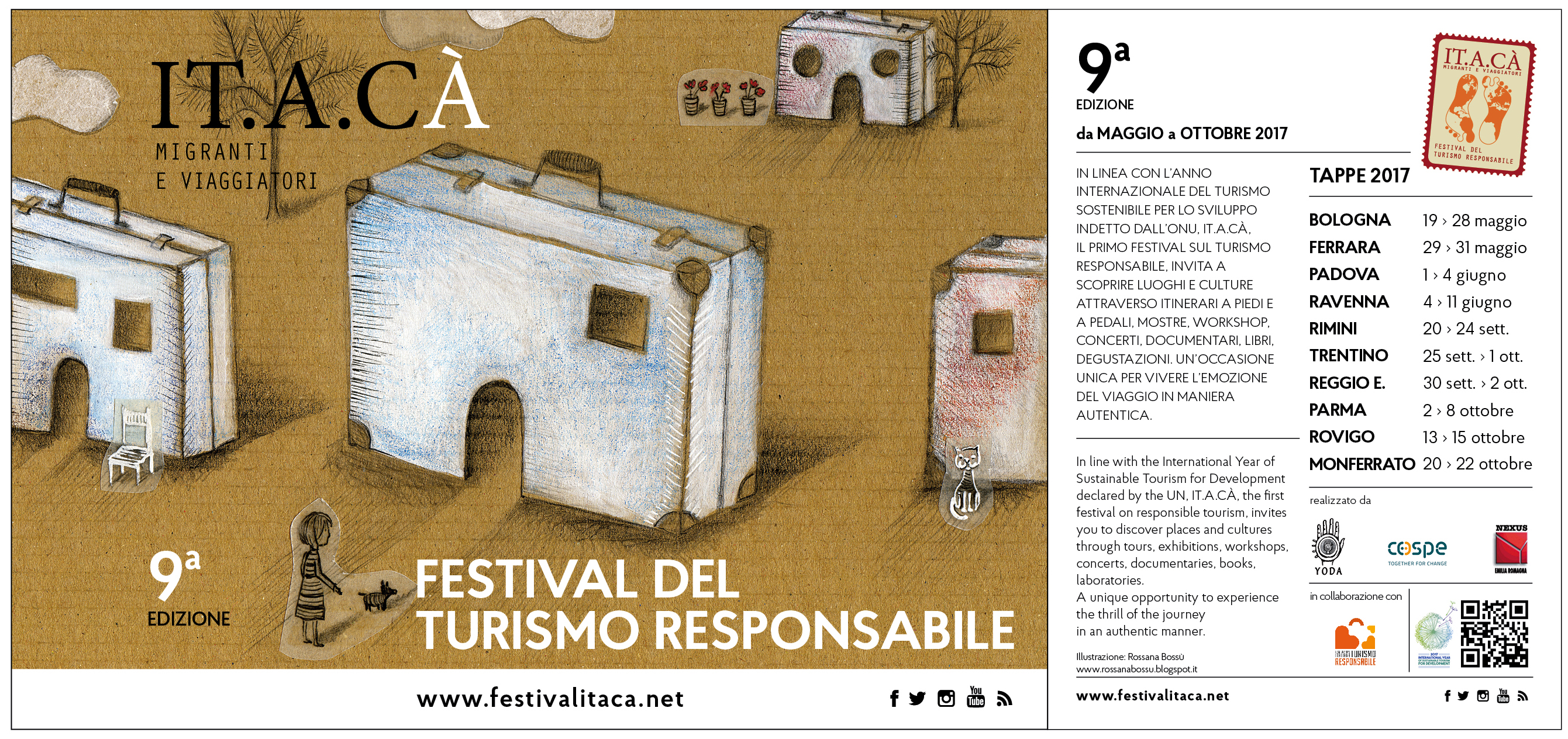 ITACA festival del Turismo Responsabile a Bologna
