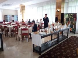 Colazione all'hotel Perù Rimini