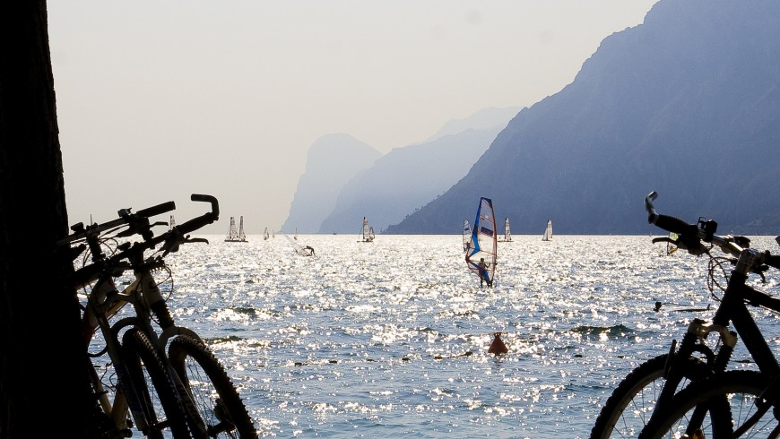In bici sul Lago di Garda