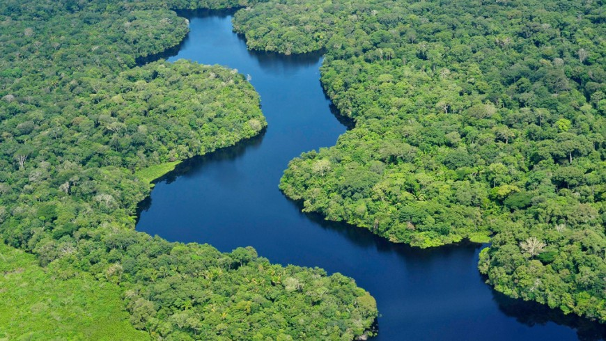 Amazzonia, uno dei luoghi che potrebbero sparire a causa dei cambiamenti climatici