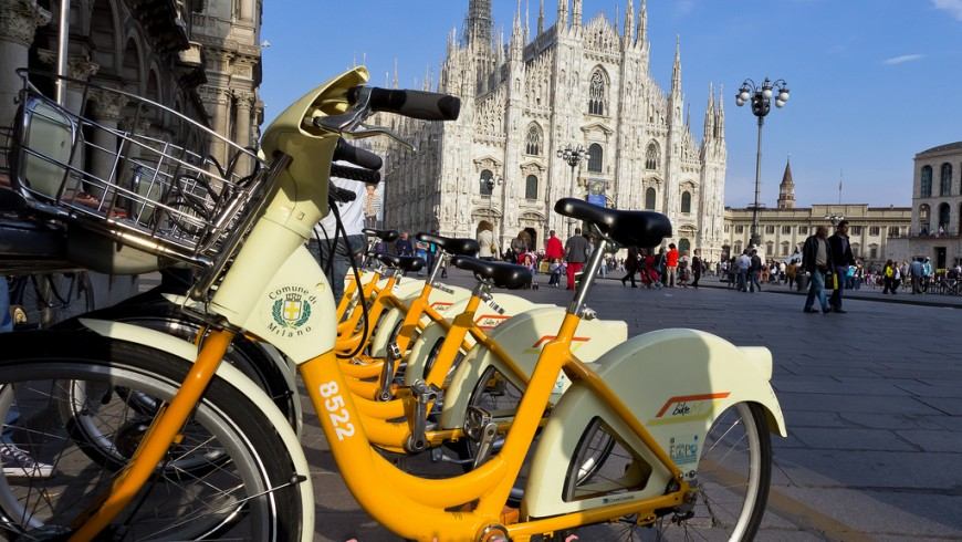 Bike-sharing a Milano