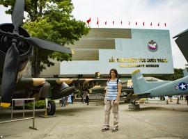 Il museo dei residuati bellici di Ho Chi Mihn