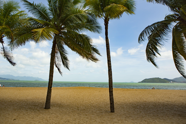 la spiaggia di Nha Trang, Vietnam