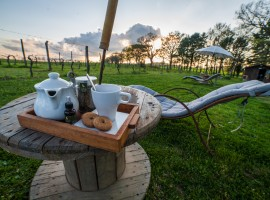 Colazione all'ecobnb sant'Egle, una fattoria a 5 stelle tra le colline Toscane