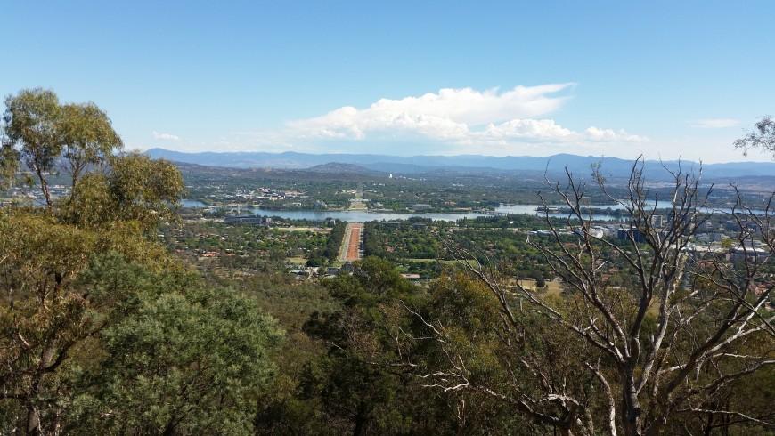 Canberra, città e capitale australiana