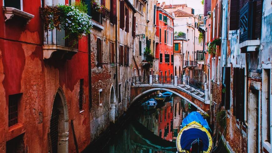 Venezia, uno dei luoghi che potrebbero sparire a causa dei cambiamenti climatici