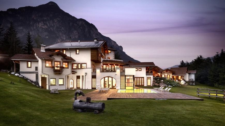 Castelir Suite Hotel, un esempio di bioedilizia in Trentino Alto Adige