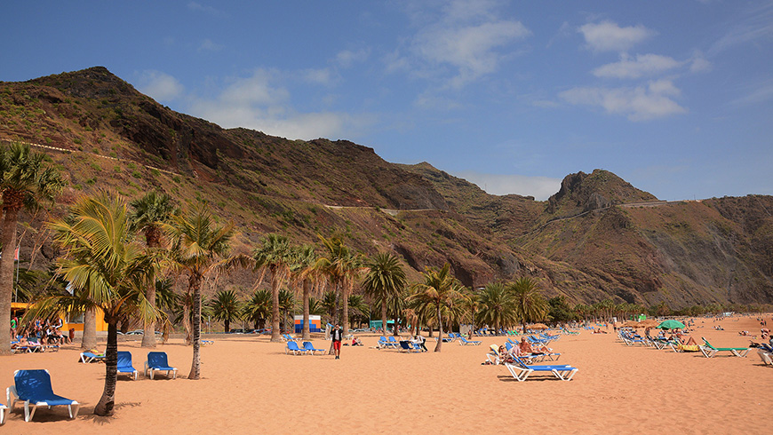 Playa de las Teresitas, Spagna