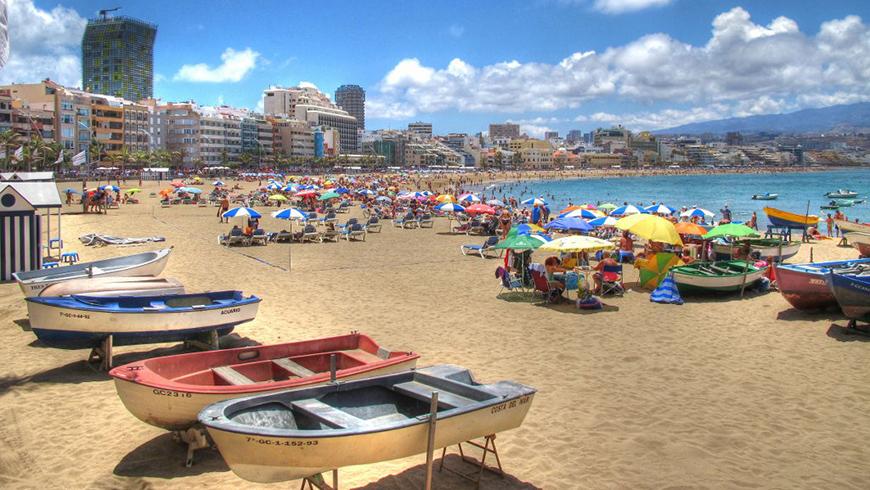 Le 30 spiagge più belle in Spagna: Canteras