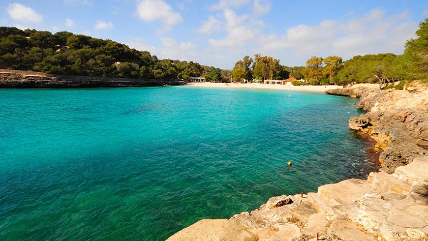 Le 30 spiagge più belle in Spagna: Cala Mondrago