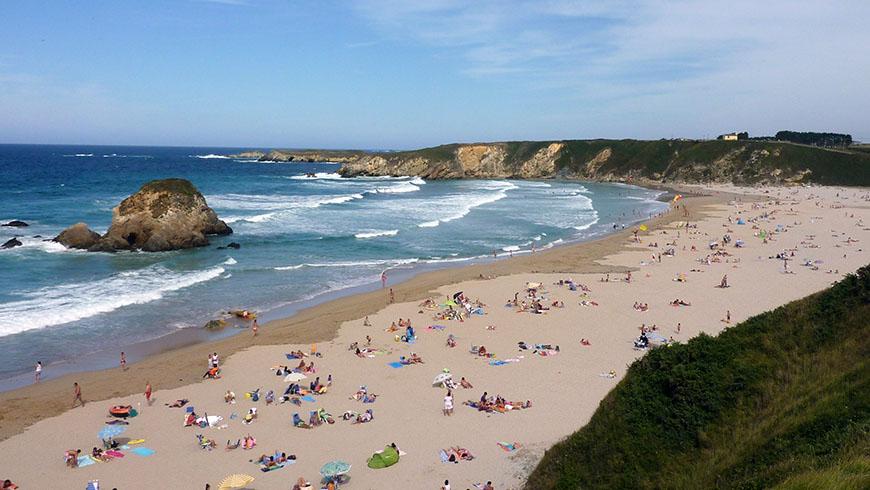 Le 30 spiagge più belle in Spagna: Penarronda