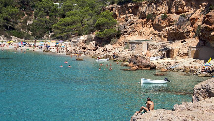 Le 30 spiagge più belle in Spagna: Cala Mitjana