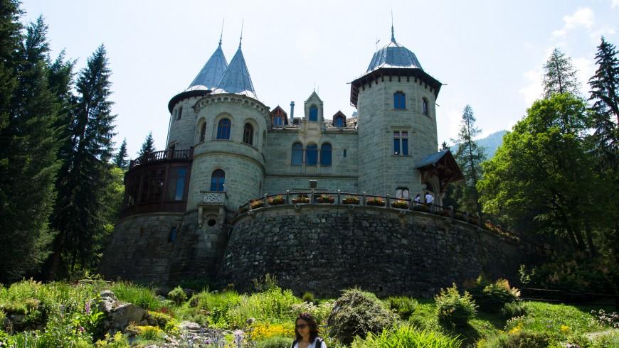 Castel Savoia, Valle D'Aosta