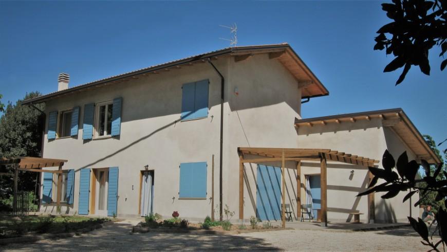 casa in paglia vicino a Ravenna
