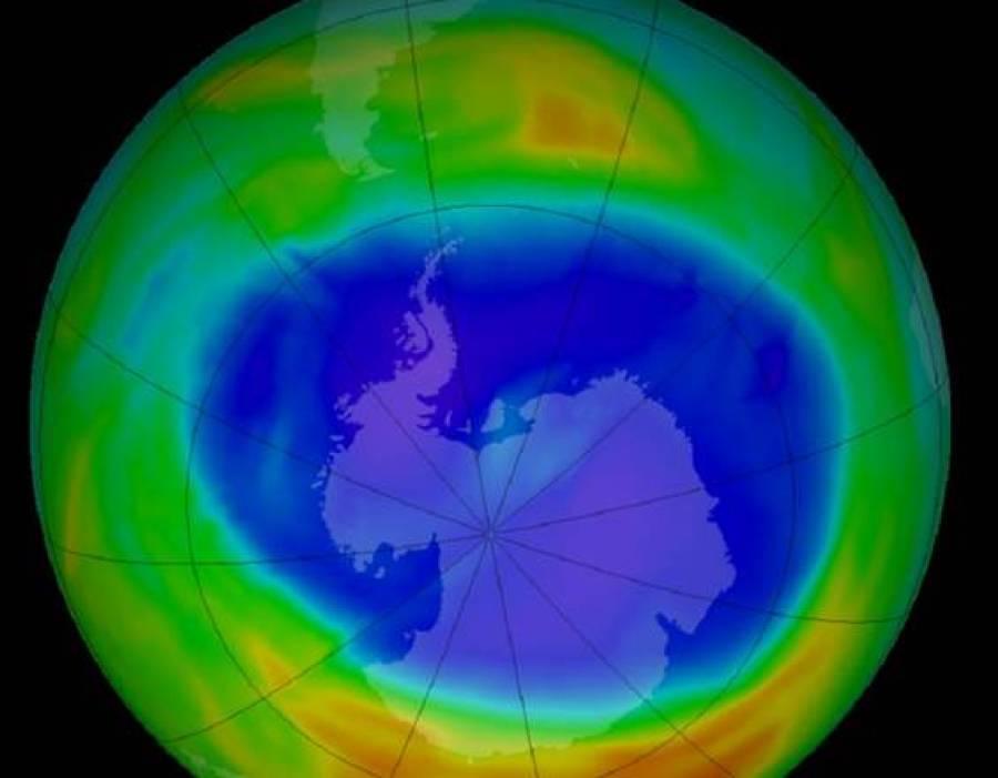 Torna ad allargarsi il buco dell'ozono