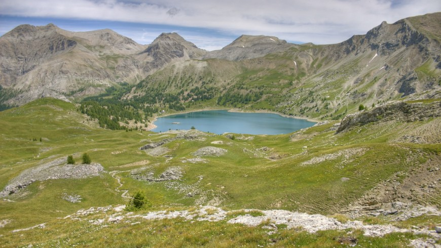 Lago d'Alloss, Alpi Marittime