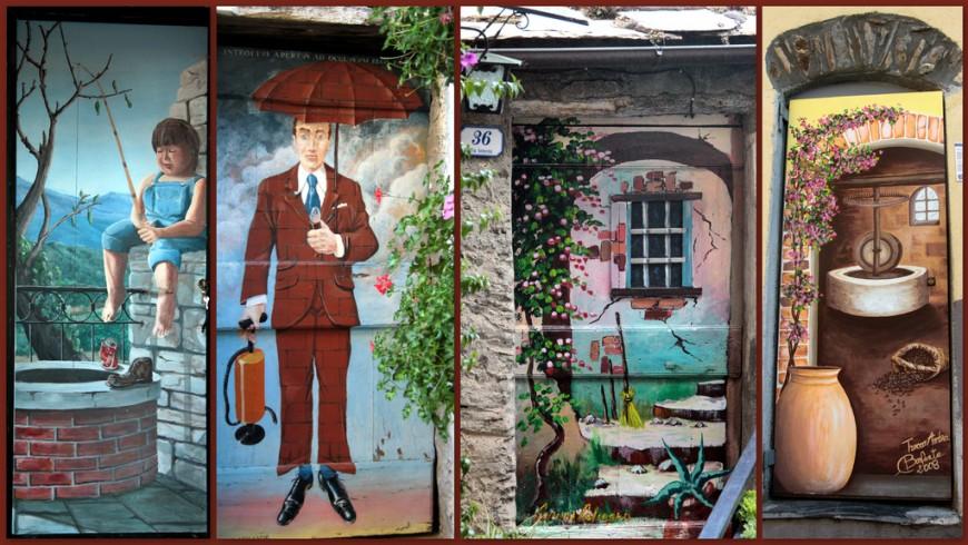 Viaggio tra i paesi dipinti d'Italia: Valloria
