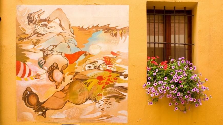 Viaggio tra i paesi dipinti d'Italia: Dozza