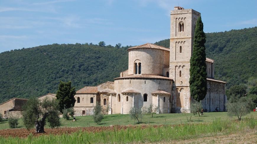 Abbazia di Sant'Antimo, Toscana