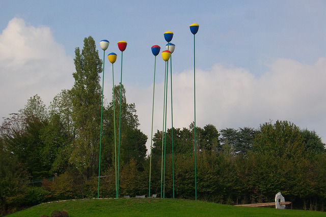 I tulipani installazione artistica