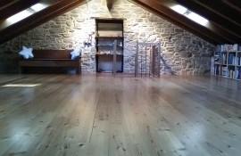 Una casa per lo yoga nella natura dell'Appennino Parmense