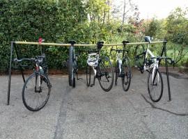 Il servizio bike in uno degli hotel tra le colline di Torino, lungo la strada dei colori e dei sapori