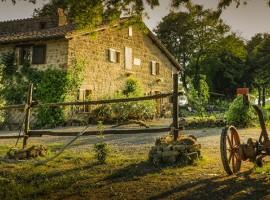 Vacanza in auto elettrica in Italia: agriturismo bio Sant'Egle, Toscana