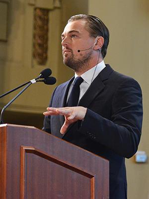 Leonardo DiCaprio, cambiamento climatico
