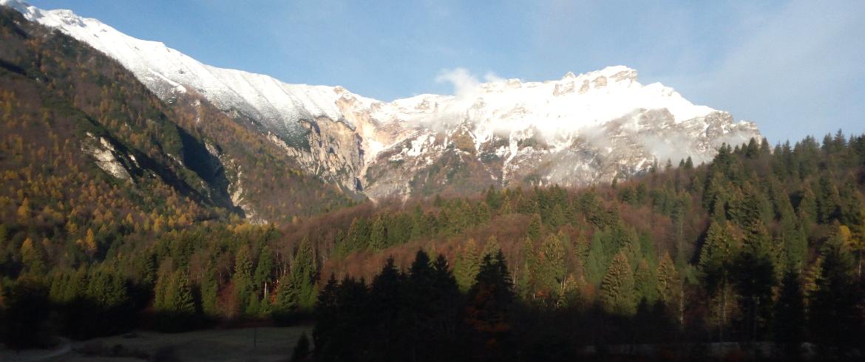 Becco di Filadonna innevato, Alpe Cimbra, Trentino