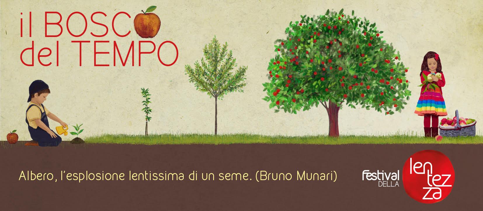 Il Bosco del Tempo: come partecipare al progetto del Festival della Lentezza per costruire un frutteto a Colorno