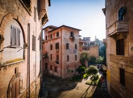 La città di Roma, Italia