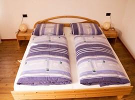 Camera da letto matrimoniale, Appartamento Schatzer, vacanze verdi