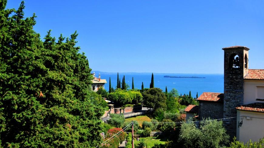 Panorama da casa Francesca, Lago di Garda