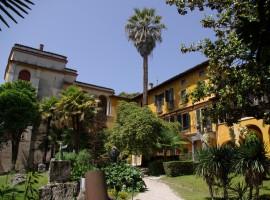 Il bellissimo Vittoriale degli italiani, a Gardone, Lago di Garda