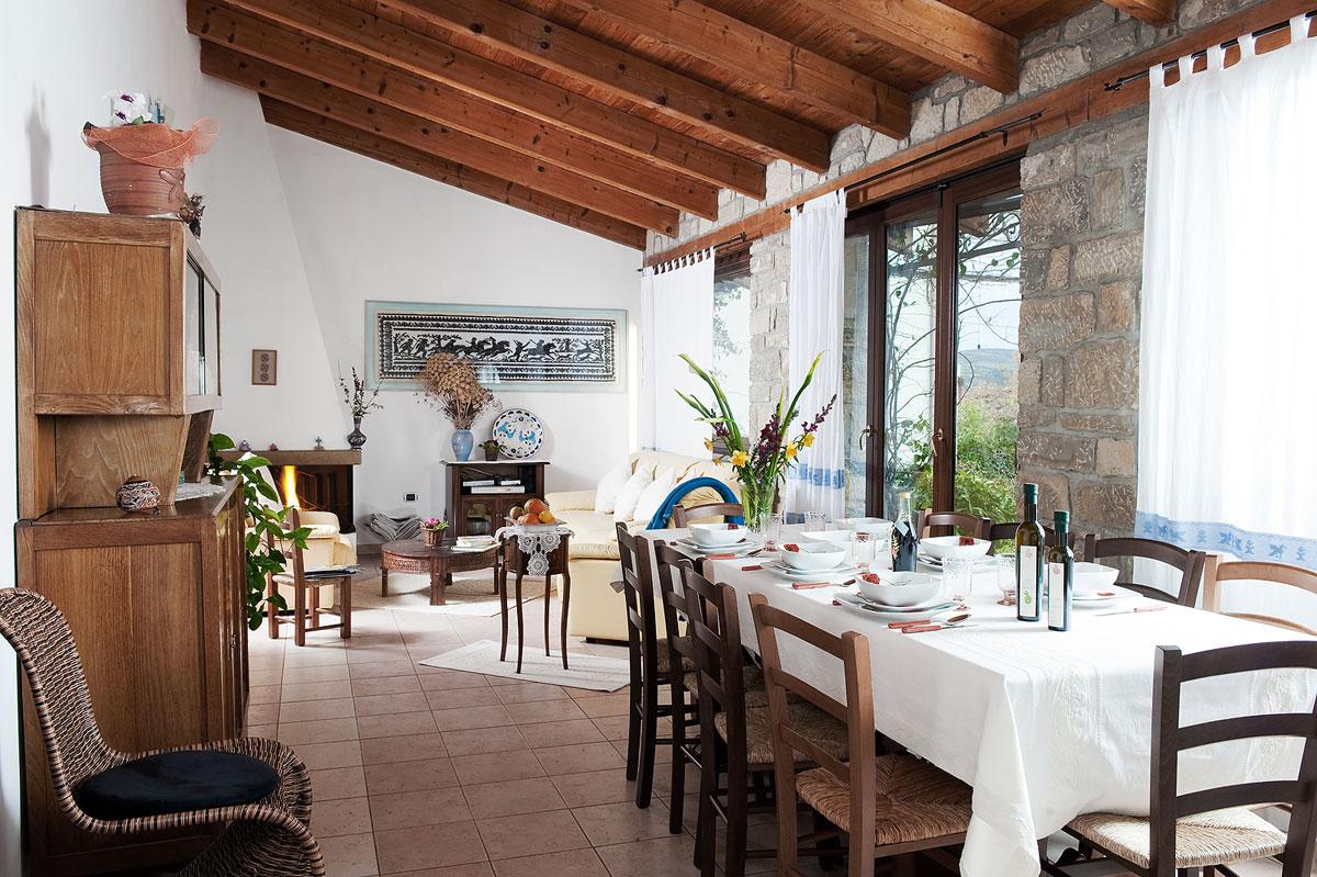 Sala da pranzo, Il Giardino di Valentina, mobilità slow