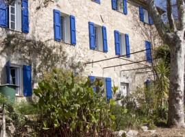 La Maison Bleue, alloggi verdi