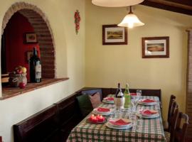 Sala da pranzo, La Prugnola, alloggi verdi