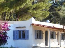 Agriturismo visto dall'esterno, Grecia, alloggi verdi