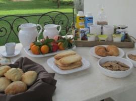 Colazione biologica, Casa Gaia, alloggi verdi