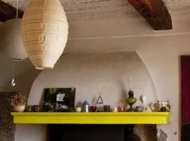 Interni arredati de La Maison, alloggi verdi