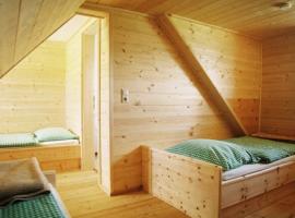Camera da letto, Almgasthaus Hiasl Zibenhütte, alloggi verdi